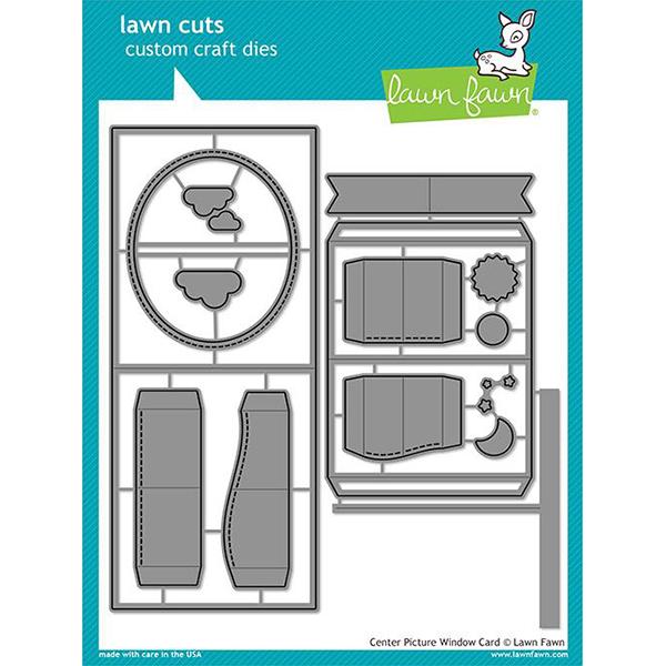 【ローンフォーン/Lawn Fawn】ダイ - center picture window card