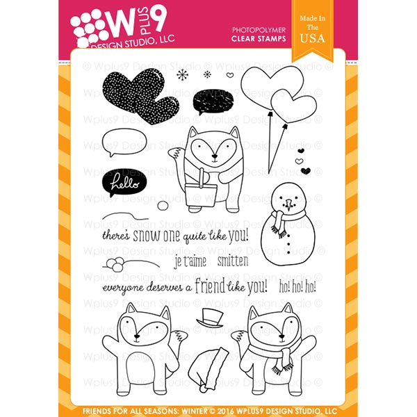 【Wプラス9/WPlus9】- Friends For All Seasons: Winter