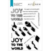 アルテニュー Joy to the World Typography