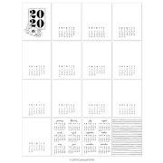 コンコード&ナインス カレンダー