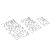 エリザベスクラフトデザイン Planner Essentials 23 - Retro Alphabet Trio