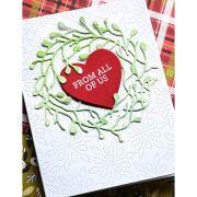 メモリーボックス Mistletoe Wreath