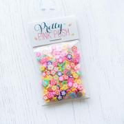 プリティピンクポッシュ Flower Power Clay Confetti
