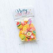 プリティピンクポッシュ Fresh Fruit Clay Confetti