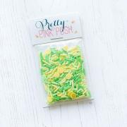 プリティピンクポッシュ Fresh Lemonade Clay Confetti