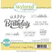 テイラードエクスプレッション Oh My Word - Happy Birthday